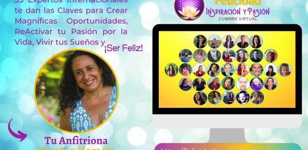 Felicidad, Inspiración y Pasión, I Cumbre Virtual